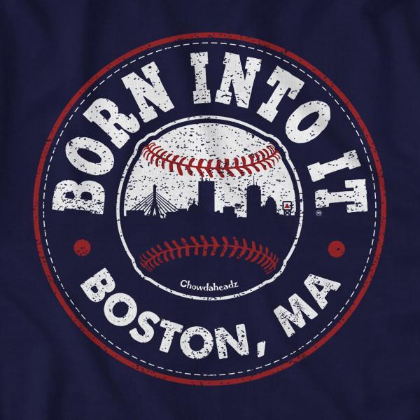 Born Into It Baseball T-Shirt - Chowdaheadz