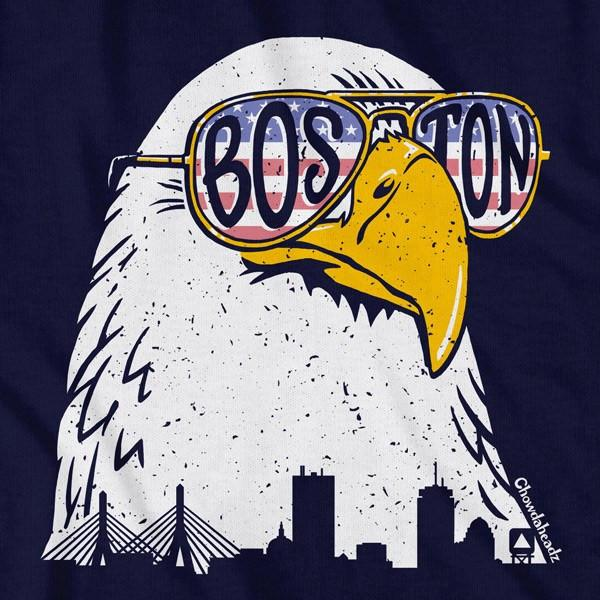 Boston Bald Eagle T-Shirt - Chowdaheadz
