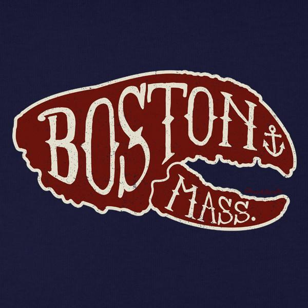 Boston Lobstah Claw T-shirt - Chowdaheadz
