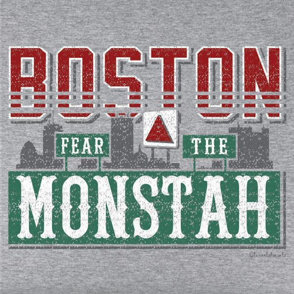 Boston Monstah T-Shirt - Chowdaheadz