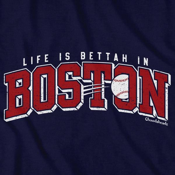 Boston Baseball Arch T-Shirt - Chowdaheadz