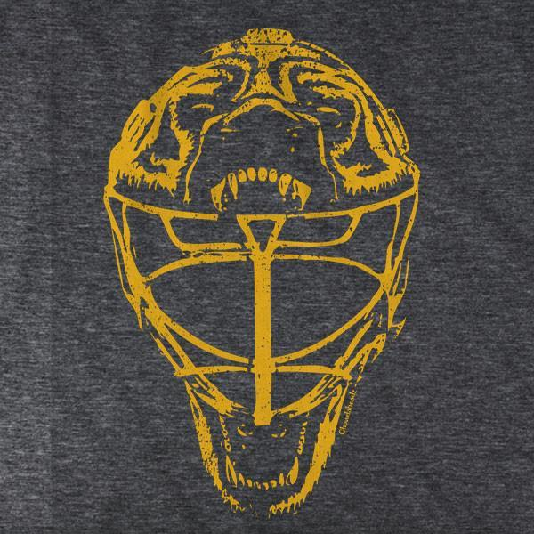Boston Vintage Goalie Mask T-Shirt - Chowdaheadz