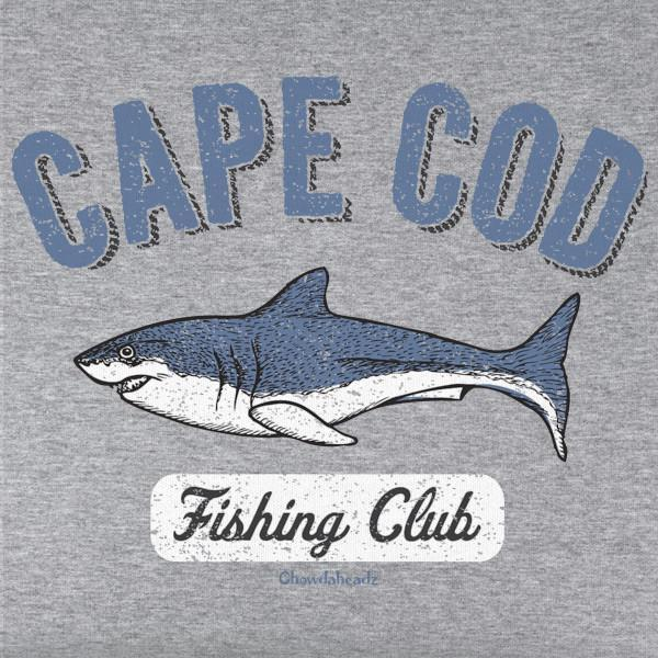 Cape Cod Fishing Club T-Shirt - Chowdaheadz