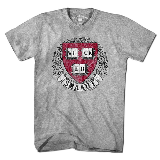 College Wicked Smaaht T-Shirt - Chowdaheadz