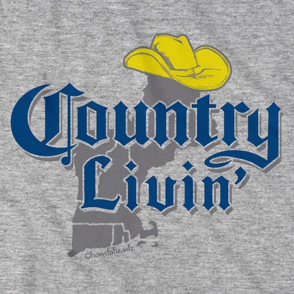Country Livin' New England T-Shirt - Chowdaheadz