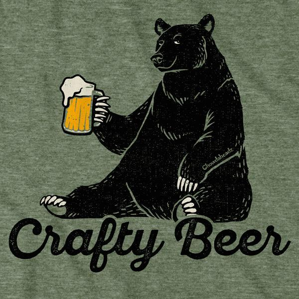 Crafty Beer T-Shirt - Chowdaheadz