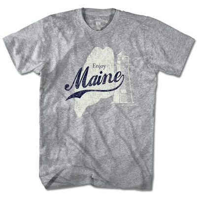Enjoy Maine T-Shirt - Chowdaheadz