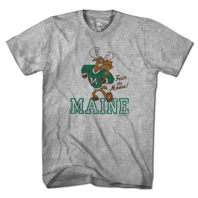 Fear The Moose Maine Mascot T-shirt - Chowdaheadz