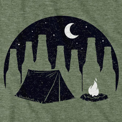 In Tents Camping Drinkah T-Shirt - Chowdaheadz