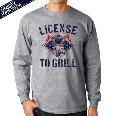 License To Grill T-Shirt - Chowdaheadz