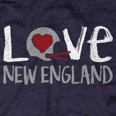 T-Shirts - Love New England Varsity T-Shirt