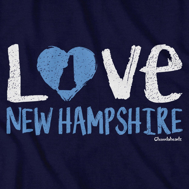 Love New Hampshire T-Shirt - Chowdaheadz