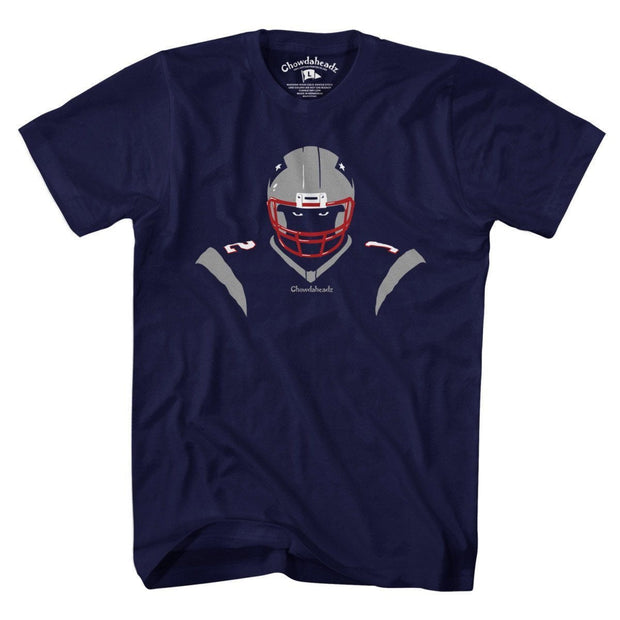 New England Angry Silhouette T-Shirt - Chowdaheadz