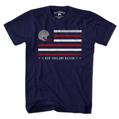 New England Flag Football T-Shirt - Chowdaheadz