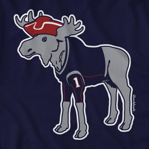 New England Moose T-Shirt - Chowdaheadz