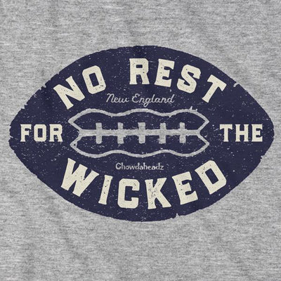 T-Shirts - No Rest For The Wicked Football T-Shirt
