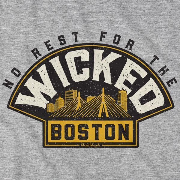 No Rest for The Wicked Hockey T-Shirt - Chowdaheadz