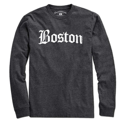 Old Boston Script T-Shirt - Chowdaheadz