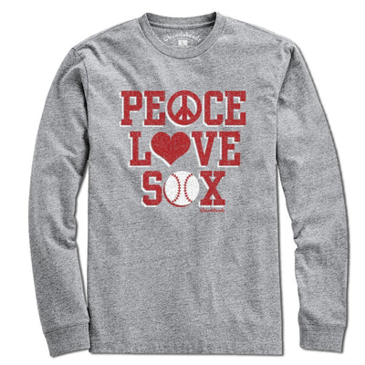 Peace Love Sox T-Shirt - Chowdaheadz