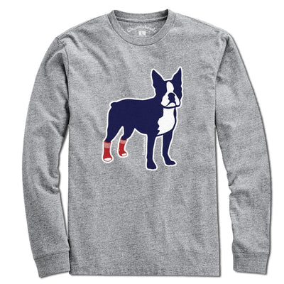 Socks on Boston Terrier T-Shirt - Chowdaheadz