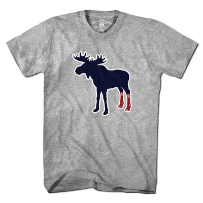 Socks On Moose T-Shirt - Chowdaheadz