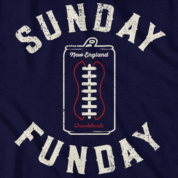 Sunday Funday Football T-Shirt - Chowdaheadz