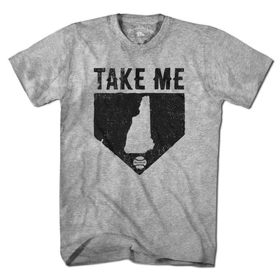 Take Me Home New Hampshire T-Shirt - Chowdaheadz