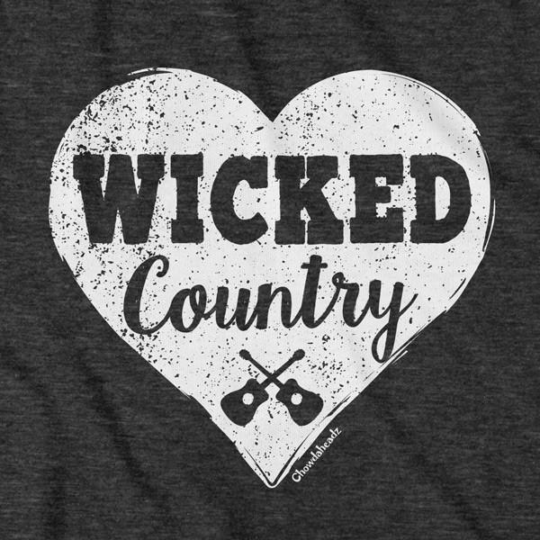 Wicked Country Heart T-Shirt - Chowdaheadz