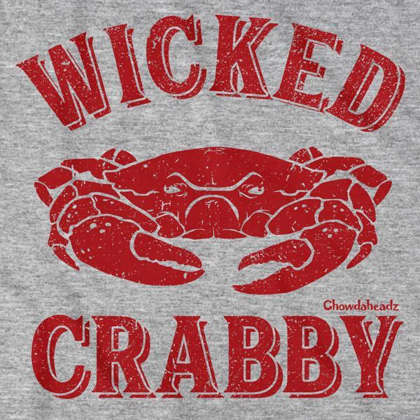 Wicked Crabby T-Shirt - Chowdaheadz