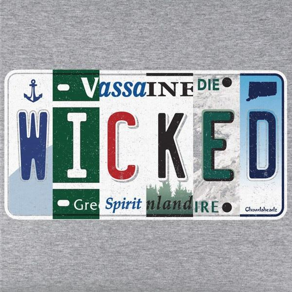 Wicked New England License Plate T-Shirt - Chowdaheadz