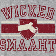 Wicked Smaaht University Massachusetts T-Shirt - Chowdaheadz