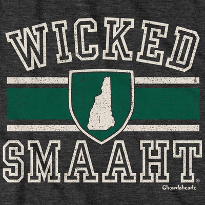 T-Shirts - Wicked Smaaht University New Hampshire T-Shirt