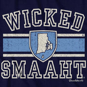 Wicked Smaaht University Rhode Island T-Shirt - Chowdaheadz