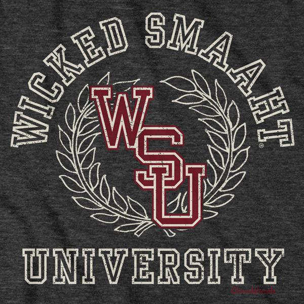 Wicked Smaaht University T-Shirt - Chowdaheadz