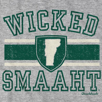 T-Shirts - Wicked Smaaht University Vermont T-Shirt