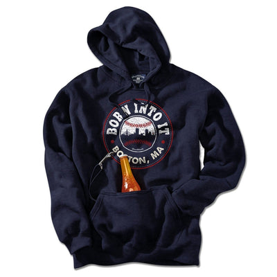 Born Into It Baseball Tailgater Hoodie - Chowdaheadz