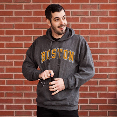 Boston Black & Gold Tailgater Hoodie - Chowdaheadz
