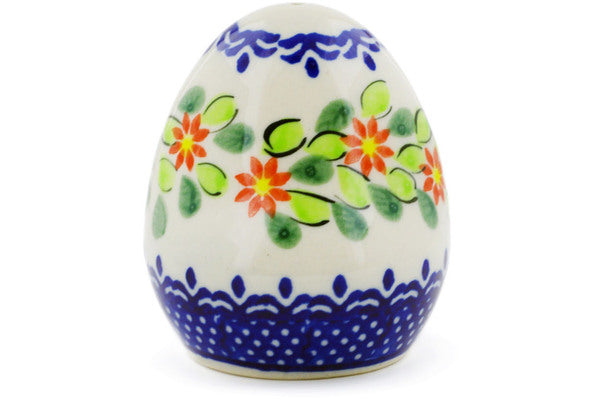 "Polish Pottery 3"" Salt Shaker Elegant Garland"