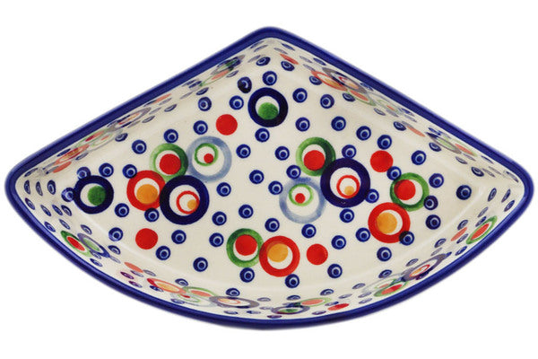 "Polish Pottery 8"" Bowl Bubble Machine UNIKAT"