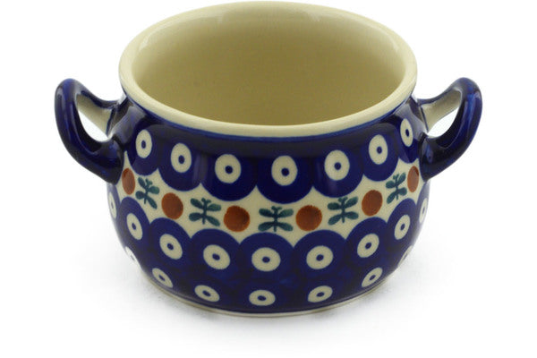 Polish Pottery 13 oz Bouillon Cup Mosquito