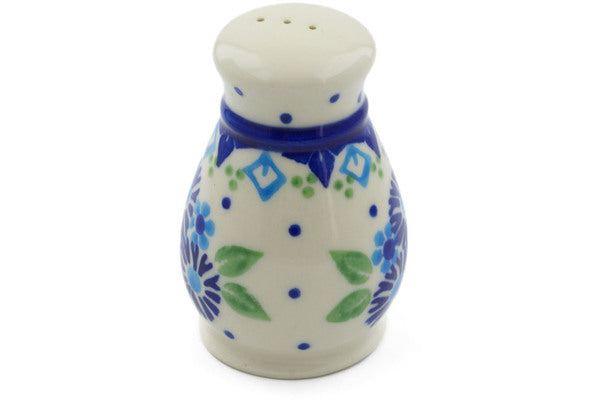 "Polish Pottery 3"" Pepper Shaker Aster Patches"