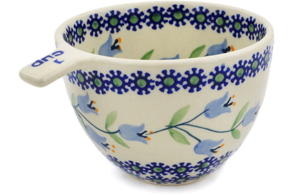 Polish Pottery 1 Cup Measuring Cup Sweet Dreams