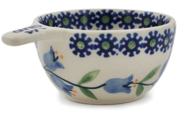 Polish Pottery 1/4 Cup Measuring Cup Sweet Dreams