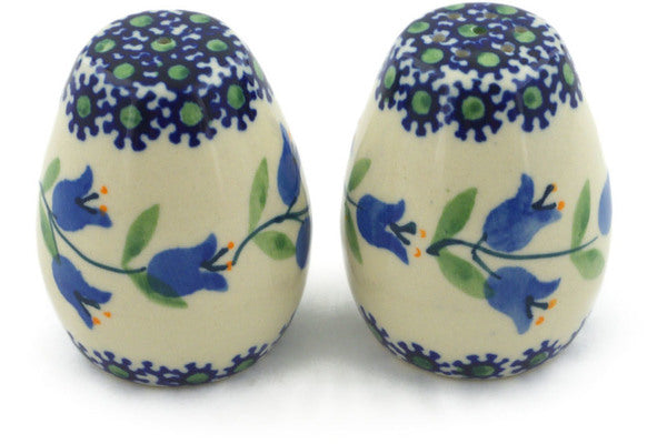 "Polish Pottery 2"" Salt and Pepper Set Sweet Dreams"