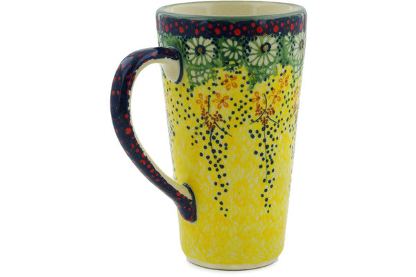 Polish Pottery 13 oz Mug Sunshine Grotto UNIKAT