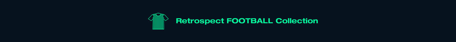 Football Vintage clothes retrospect collection