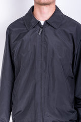Strellson Mens 54 XXL Jacket Navy Black Full Zipper Waterproof - RetrospectClothes