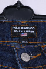 Polo Jeans Co.Ralph Lauren Womens W6 L33 Trousers Denim Navy Cotton