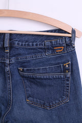 Diesel Industry Womens Trousers M Jeans Denim Blue Cotton - RetrospectClothes
