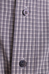 Lee Cooper Mens 16 XL Casual Shirt Check Cotton Top Grey Beige - RetrospectClothes